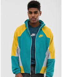 Re-Issue - Top sportivo di Nike in Green da Uomo