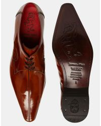 Jeffery West | Brown Centre Seam Shoes for Men | Lyst