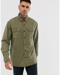 Jackson - Chemise de travail avec étiquette logo - Nuit olive Levi's pour homme en coloris Green