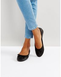 Балетки -черный New Look, цвет: Multicolor