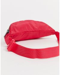 Adidas Originals Heuptasje Met Trefoil-logo In Rood in het Red