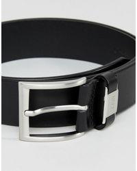 Cinturón BOSS by Hugo Boss de hombre de color Black
