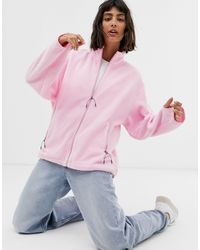 Giacca di Weekday in Pink