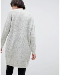 Minimum White Longline Sweater