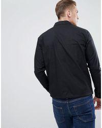 Produkt Black Cotton Coach Jacket for men