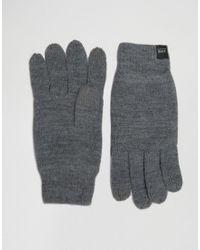 Перчатки Для Сенсорных Гаджетов Dna-серый Jack & Jones для него, цвет: Gray