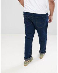 Loyalty & Faith Blue Loyalty And Faith Plus Regular Fit Jeans for men