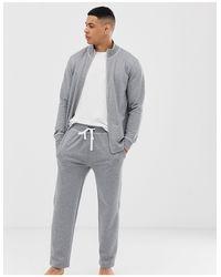 Polo Ralph Lauren Sweater Met Opstaande Boord, Rits, Contrasterend Stiksel En Polospeler-logo in het Black voor heren