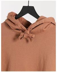 Бежевый Oversized-худи -коричневый Topman для него, цвет: Brown