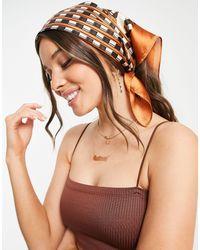 Коричневый Платок С Принтом -коричневый Цвет South Beach, цвет: Brown