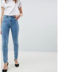 Scarlett - Jeans skinny a vita alta di Lee Jeans in Blue