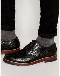 House Of Hounds - Black Joshua Derby Shoes for Men - Lyst
