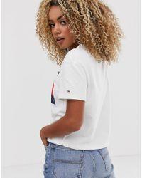 Tommy Hilfiger White Flag T-shirt