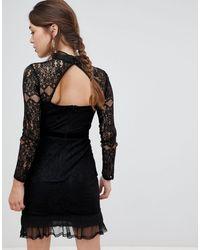 Vestido Frock and Frill de color Black