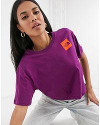 Fine - T-shirt corta viola di The North Face in Purple