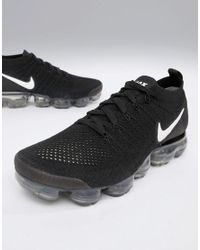 211881d410c882 Nike Air Vapormax Flyknit 2 Trainers In Black 942842-001 in Black ...