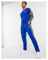 Синие Джоггеры В Стиле 70-х -синий Adidas Originals для него, цвет: Blue