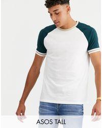 Tall - T-shirt di ASOS in Multicolor da Uomo