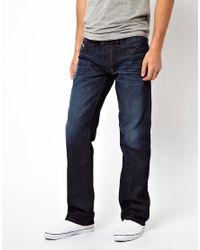 DIESEL Blue Jeans Larkee for men