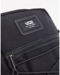 Vans – Bail – e Ripstop-Umhängetasche in Black für Herren