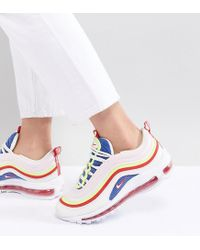 969e4512f7a8c7 Nike Panache Pack Air Max 97 Trainers in White - Lyst