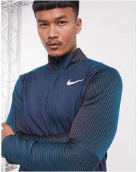 Nike Blue Element Hybrid Track Jacket for men