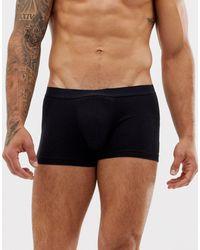 Boxer avec imprimé Boston style universitaire à l'arrière ASOS pour homme en coloris Black