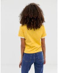 Camiseta con estampado sweet talk ASOS de color Yellow