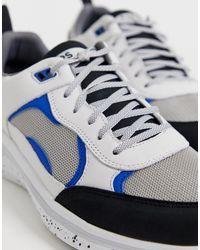 PS by Paul Smith – Ajax – e Sneaker mit dicker Sohle in White für Herren