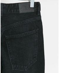 Черные Джинсы В Винтажном Стиле Из Органического Хлопка С Завышенной Талией Taiki-черный Monki, цвет: Black