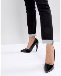 ASOS Black Asos Prosecco Pointed High Heels