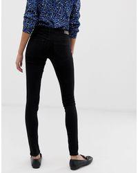 Maya - Jean skinny ONLY en coloris Black