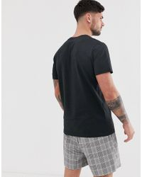 Originals - T-shirt à motif graphique perroquet original Jack & Jones pour homme en coloris Black