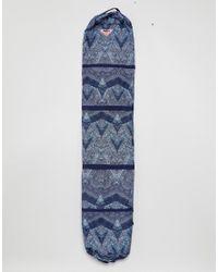 Roxy - Blue Printed Ski Bag - Lyst