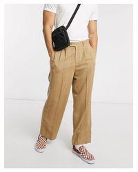 Pantalones elegantes ASOS de hombre de color Natural