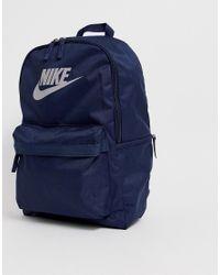 Темно-синие Рюкзак Heritage Nike для него, цвет: Blue