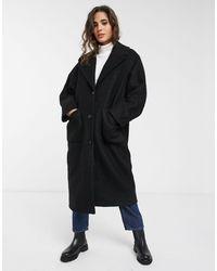 Weekday Black Jennie Coat
