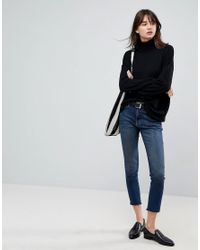 ASOS Black Asos Oversized Jumper With Slouchy Neck