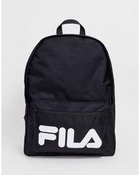 Черный Средний Рюкзак Fila, цвет: Multicolor