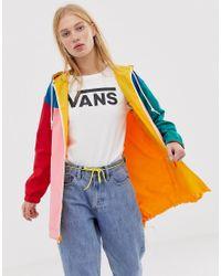 Vans Multicolor – Parka mit Farbblockdesign zum Wenden