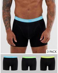 Pack de 3 ropa interior Björn Borg de hombre de color Black
