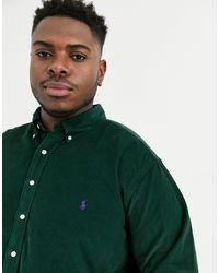 Ralph Lauren Big & Tall - Camicia button-down classica di Polo Ralph Lauren in Green da Uomo