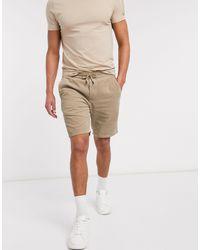 Pantaloncini di Only & Sons in Natural da Uomo