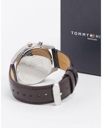 Reloj con cronómetro 1791549 Tommy Hilfiger de color Brown