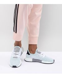 Women's Black Deerupt Runner Sneakers In Green