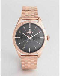 VV192BKRS Conduit - Montre-bracelet - Or rose Vivienne Westwood pour homme en coloris Metallic