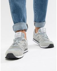 New Balance 373 Trainers In Grey Ml373gr in Grey for Men - Lyst