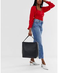 Yoki Fashion Black Yoki – Tragetasche mit Kettenriemen