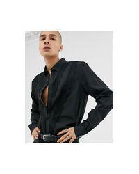 T-shirt vestibilità classica di ASOS in Black da Uomo