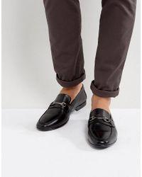 KG by Kurt Geiger Kg By Kurt Geiger Melton Loafers In Black Leather for men